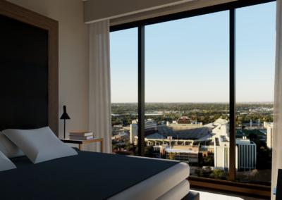 University Guest Bedroom