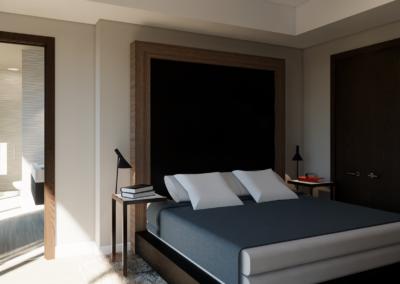 University Master Bedroom